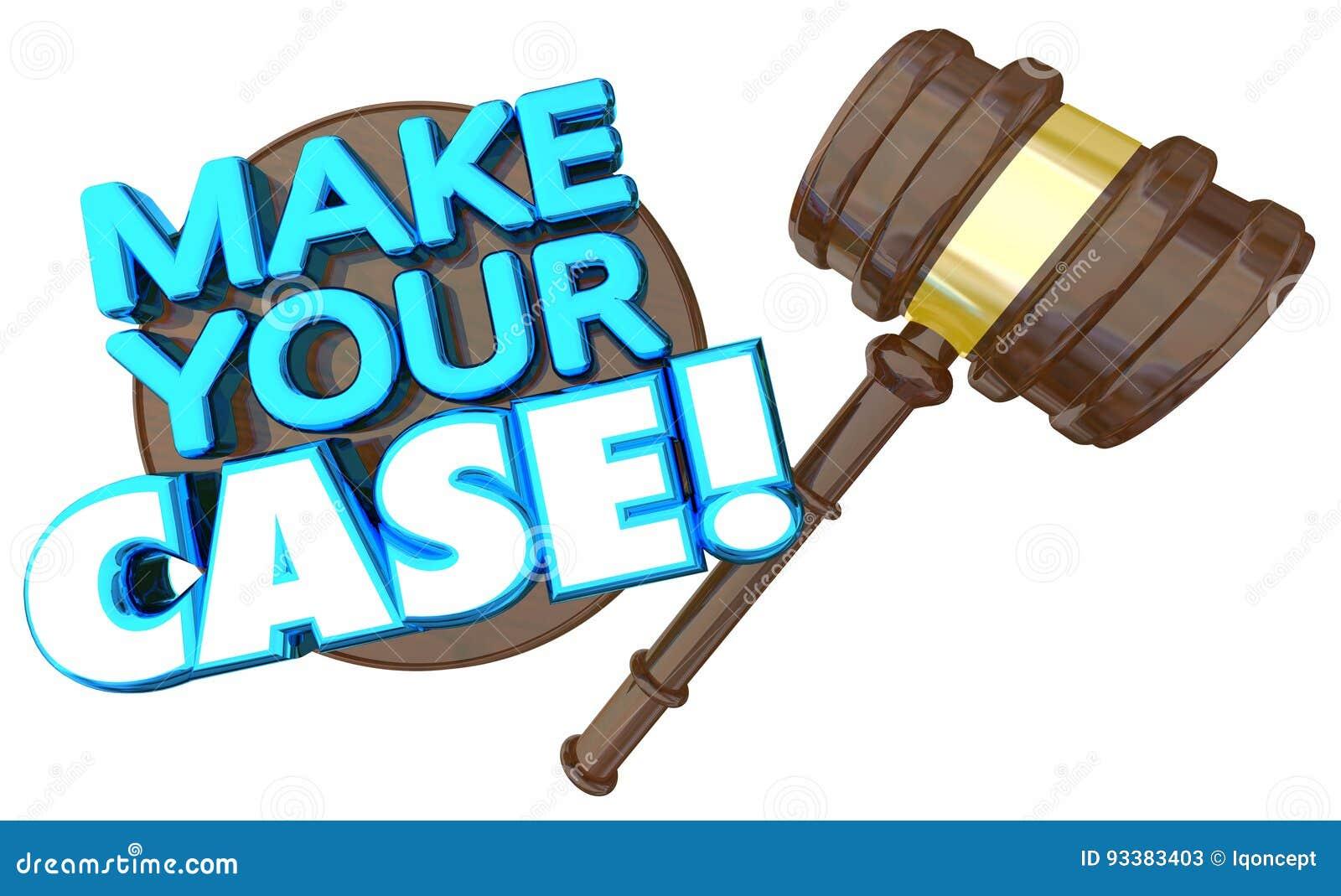 Faccia il vostro dibattito di discussione di prova di corte di caso