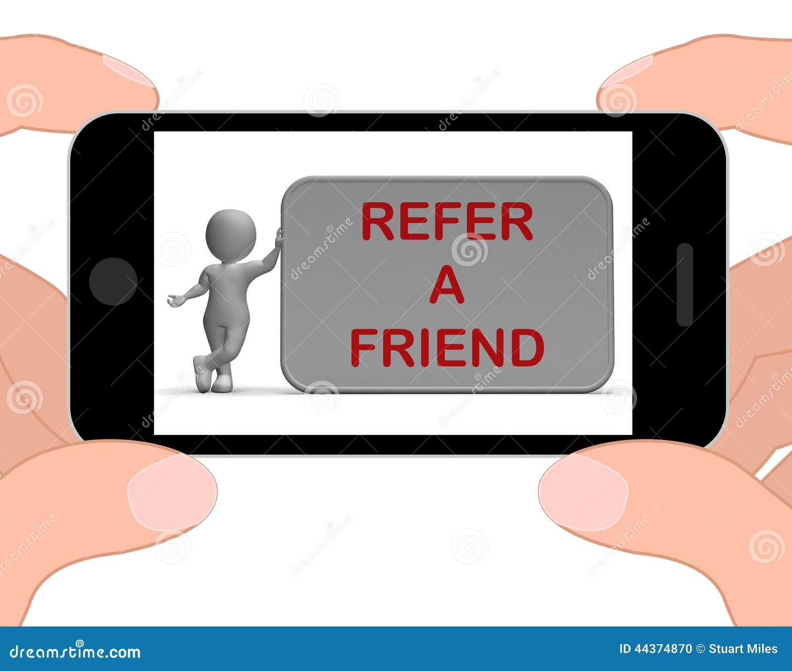 Faccia riferimento le manifestazioni di un telefono dell amico che suggeriscono il sito Web