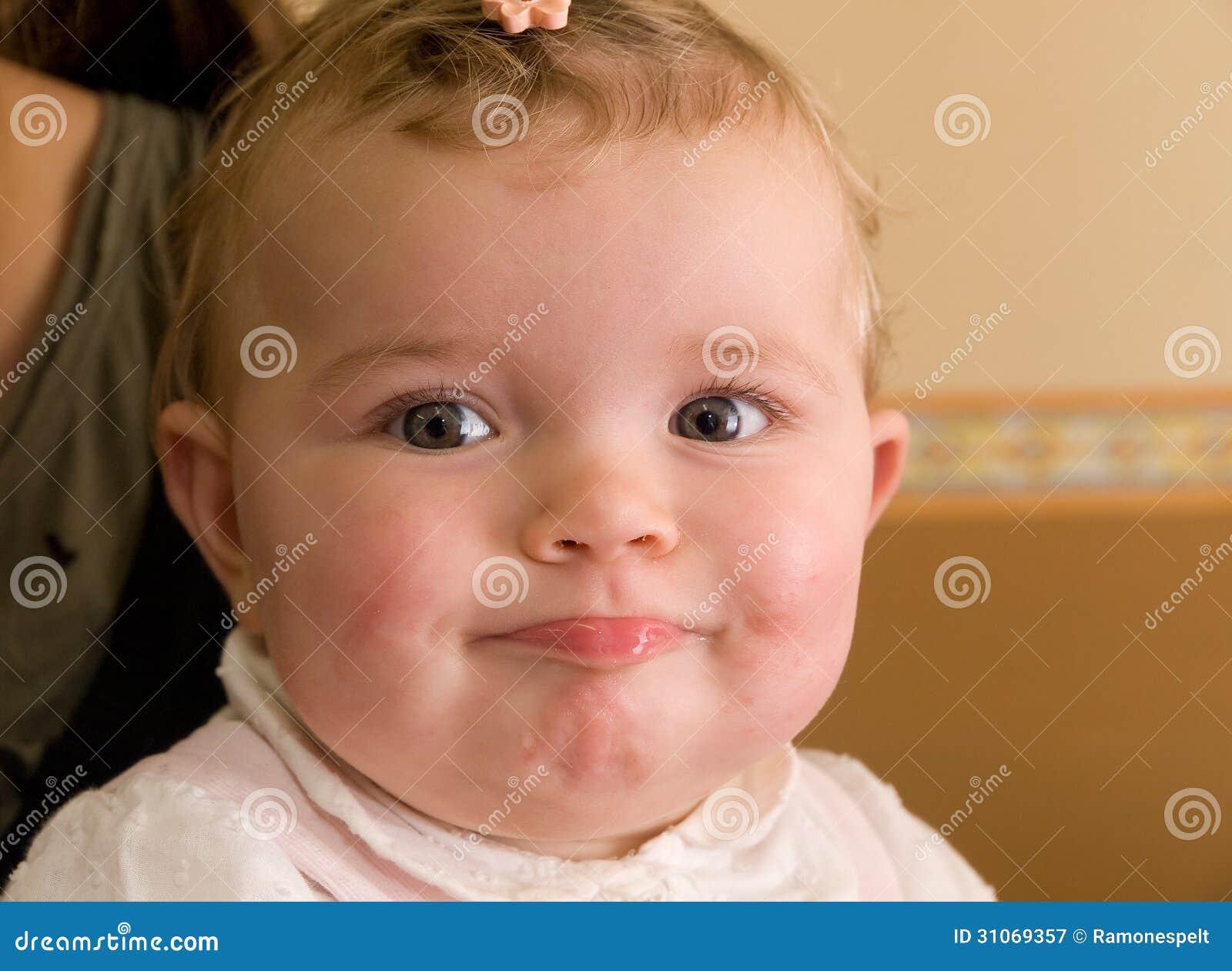 small naked girl facial