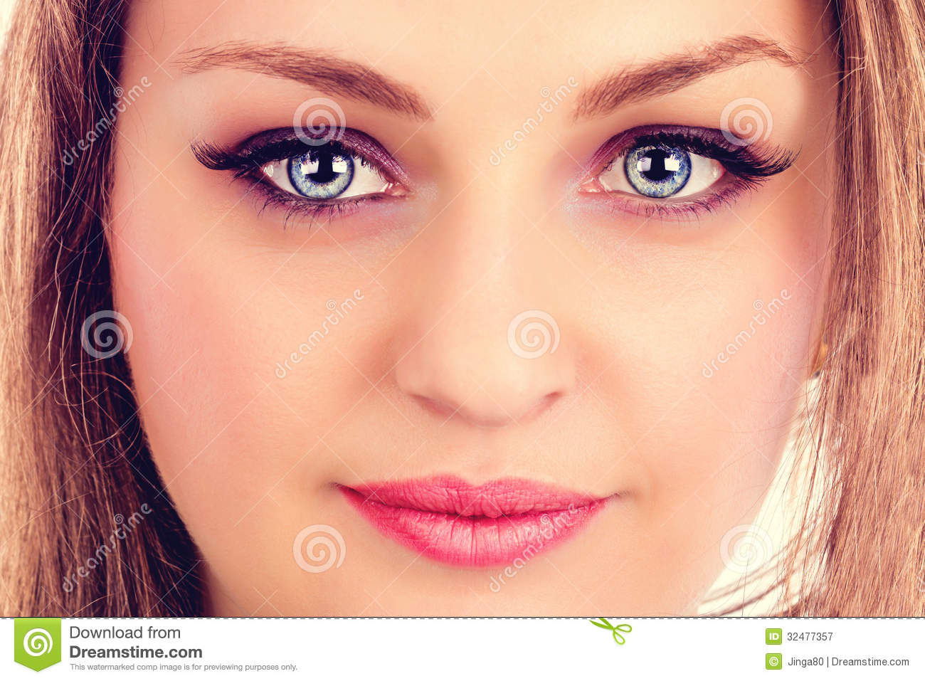 Blue Eyes Faces Green Women Wallpaper - WallDevil