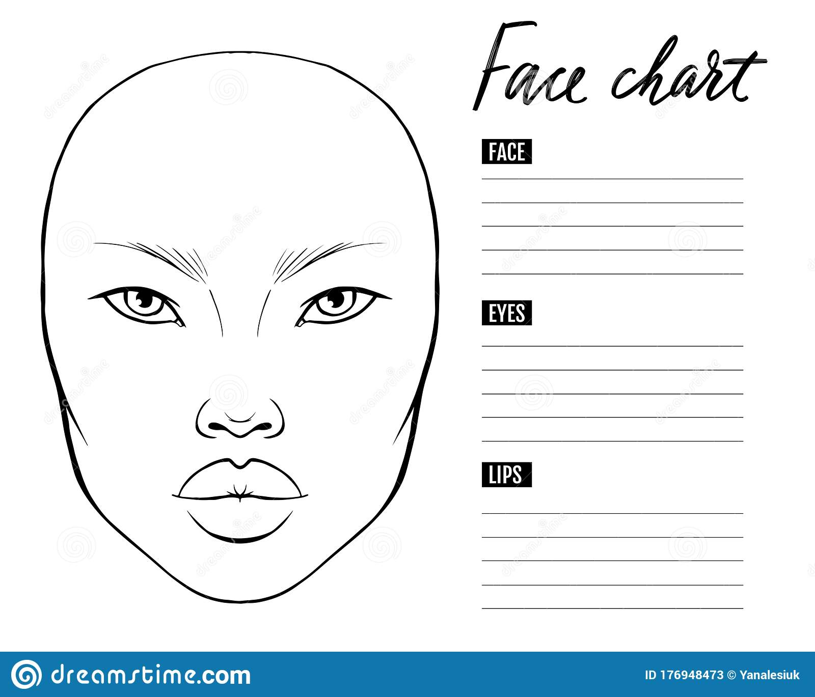 Face Chart Makeup Asian Stock Illustrations 90 Face Chart Makeup Asian Stock Illustrations Vectors Clipart Dreamstime