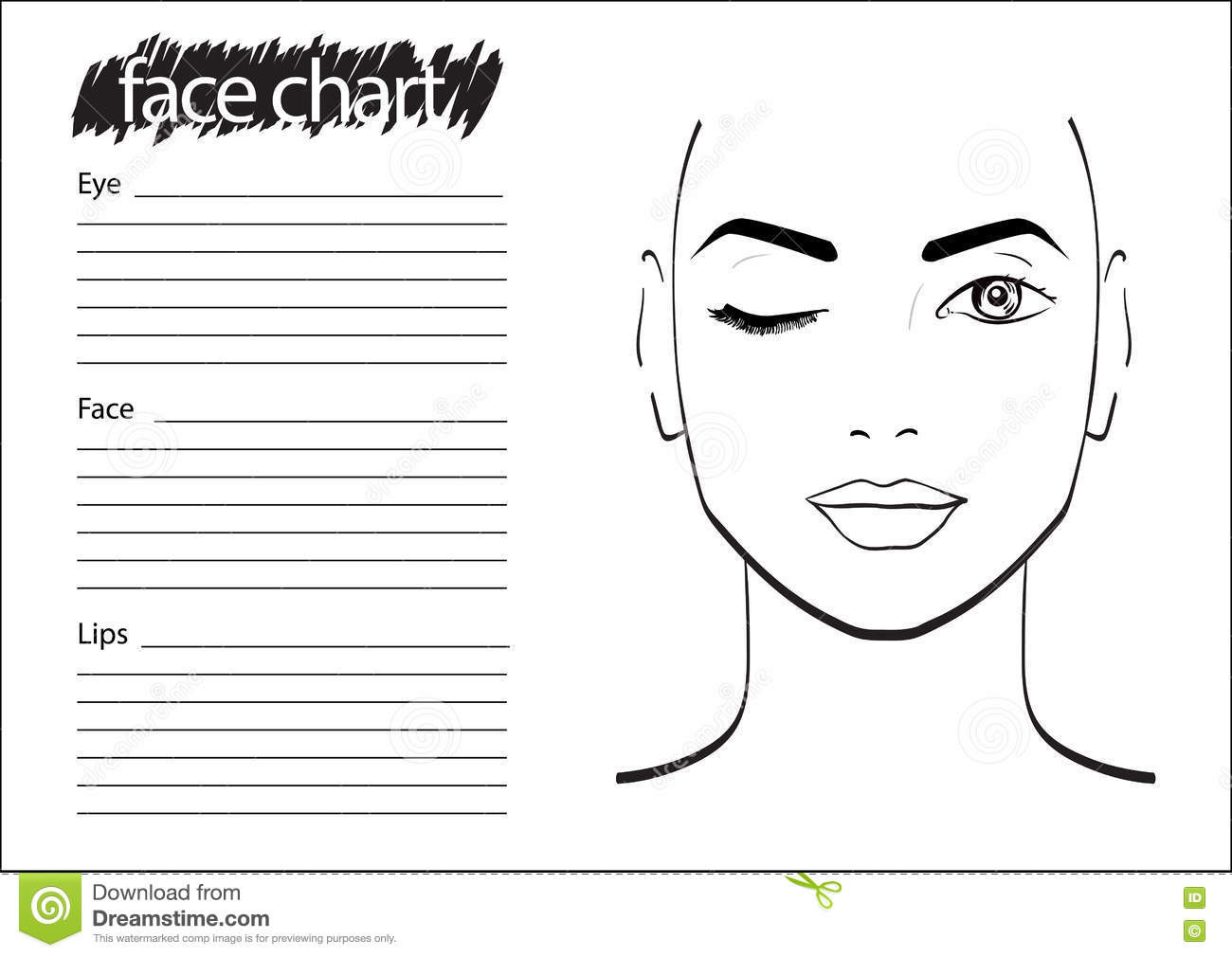 makeup face charts to mugeek vidalondon