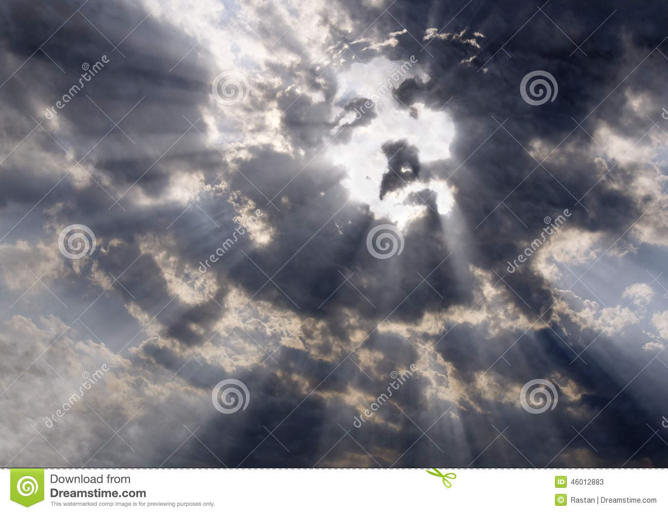 The Face Of Christ In The Sky Stock Image - Image of heaven, face: 46012883