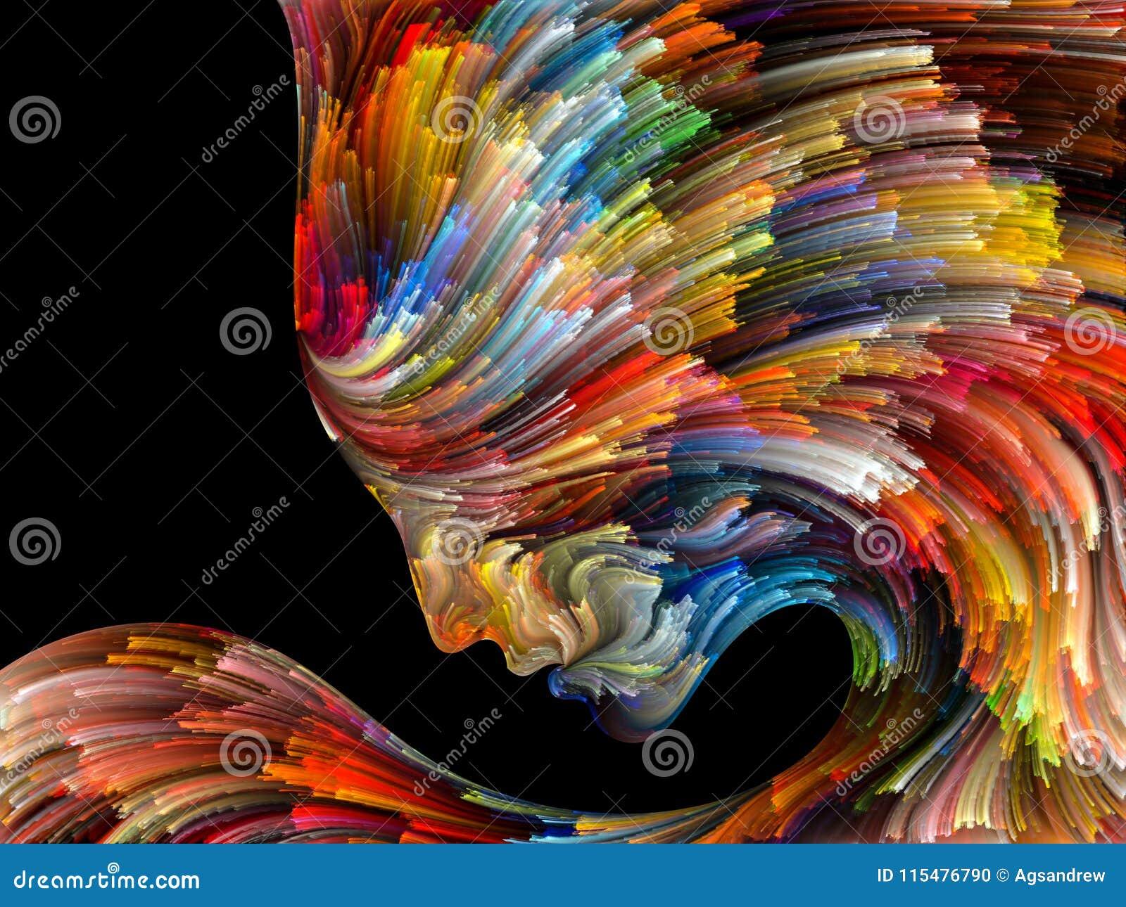 Emergence Of Inner Palette Stock Illustration Illustration
