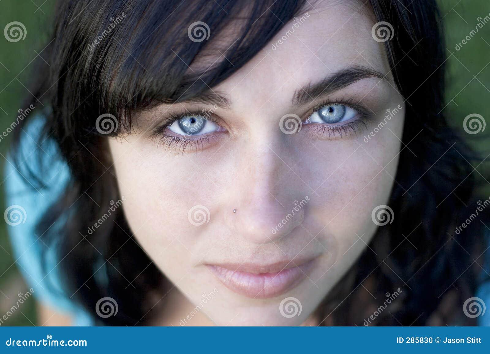 Face da mulher