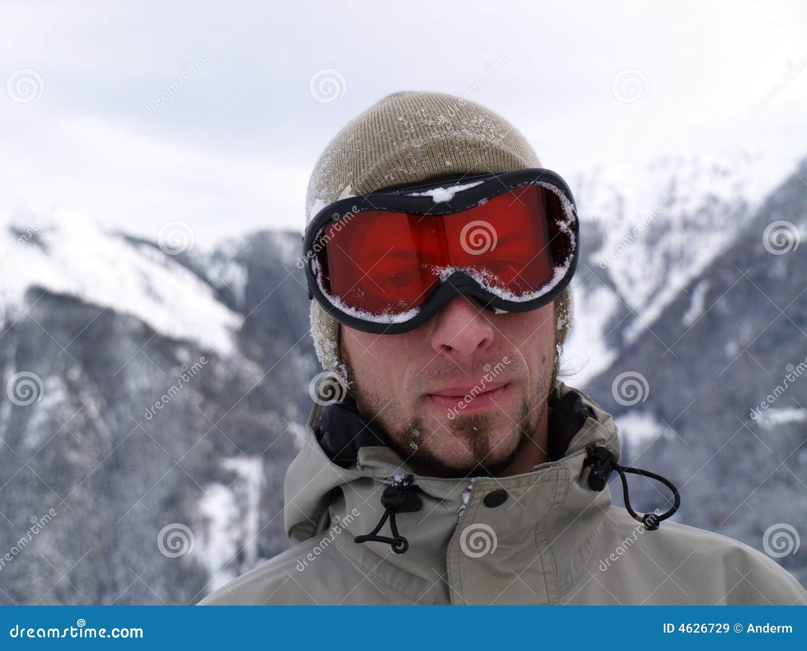 Face do Snowboarder