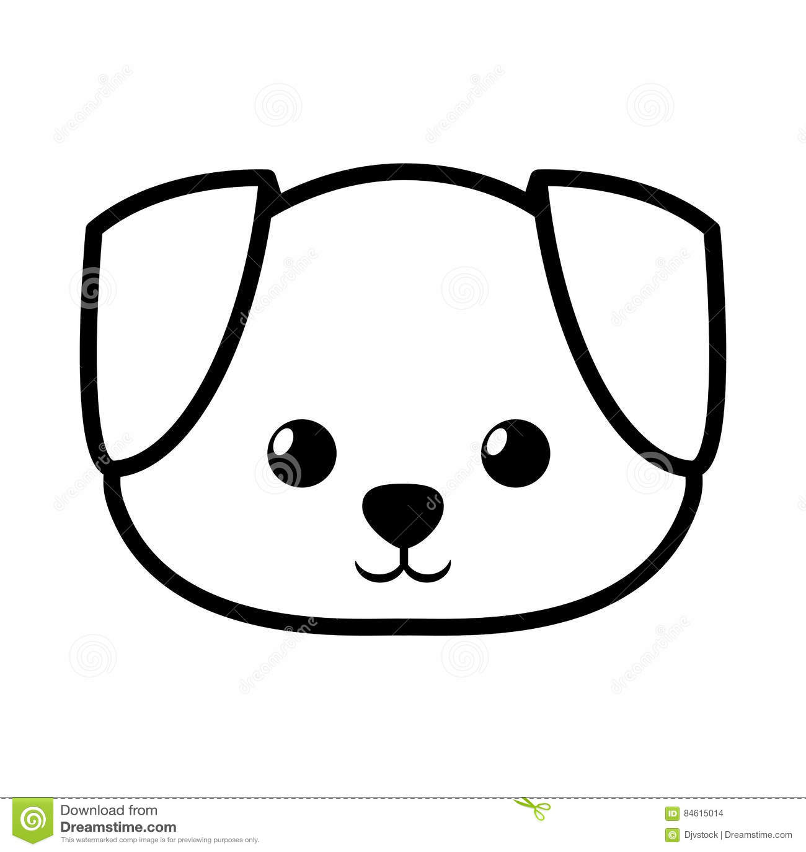 Line Drawing Of A Dog S Face : Kopek kafası çizimi sorğusuna uyğun şekilleri pulsuz yükle