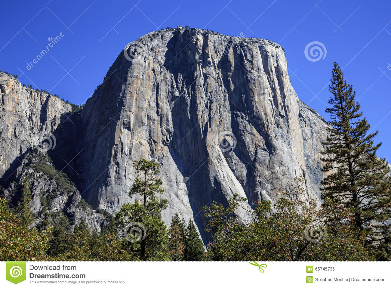 the face of el capitan stock image. image of blue, nevada - 65745735