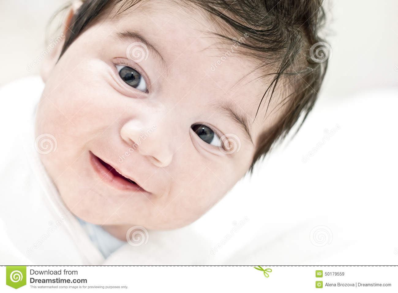 Beautiful Cute Happy Smiling Laughing Baby Stock Photo ... |Cute Smiling Baby Faces