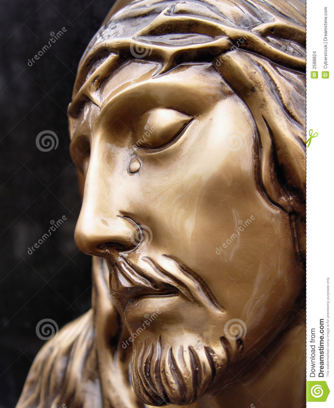 Face of jesus stock photo. Image of jesus, ancient ...