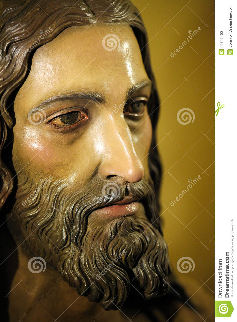 Face Of Jesus Christ Stock Photo Image Of Passion