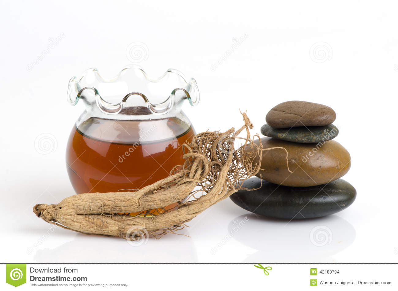 Face mask with ginseng and honey