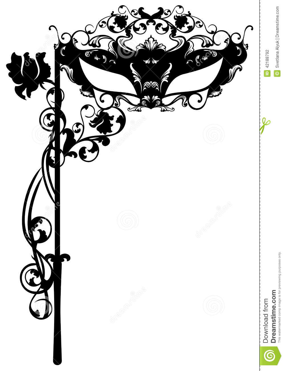 Masquerade Page Border Images - Reverse Search