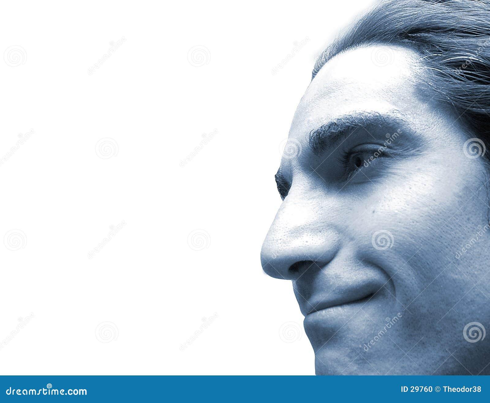 Face no azul