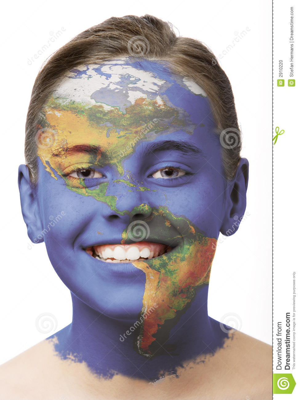 Face paint - America