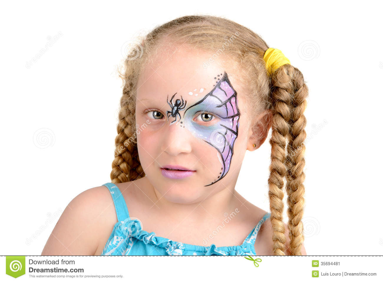 Uncategorized Spiderweb Face Paint face painting spider web stock image 35694481 royalty free photo download web
