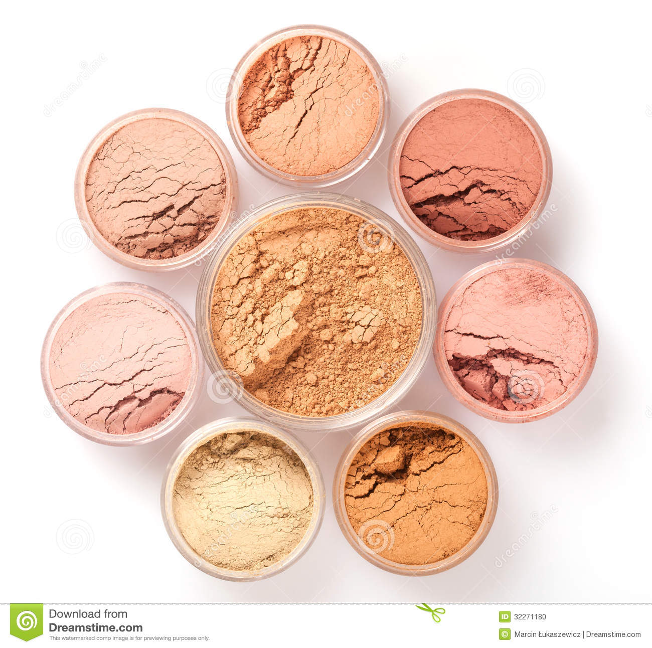 face powder colors  top view stock photo image 32271180 makeup clipart black and white makeup clip art free