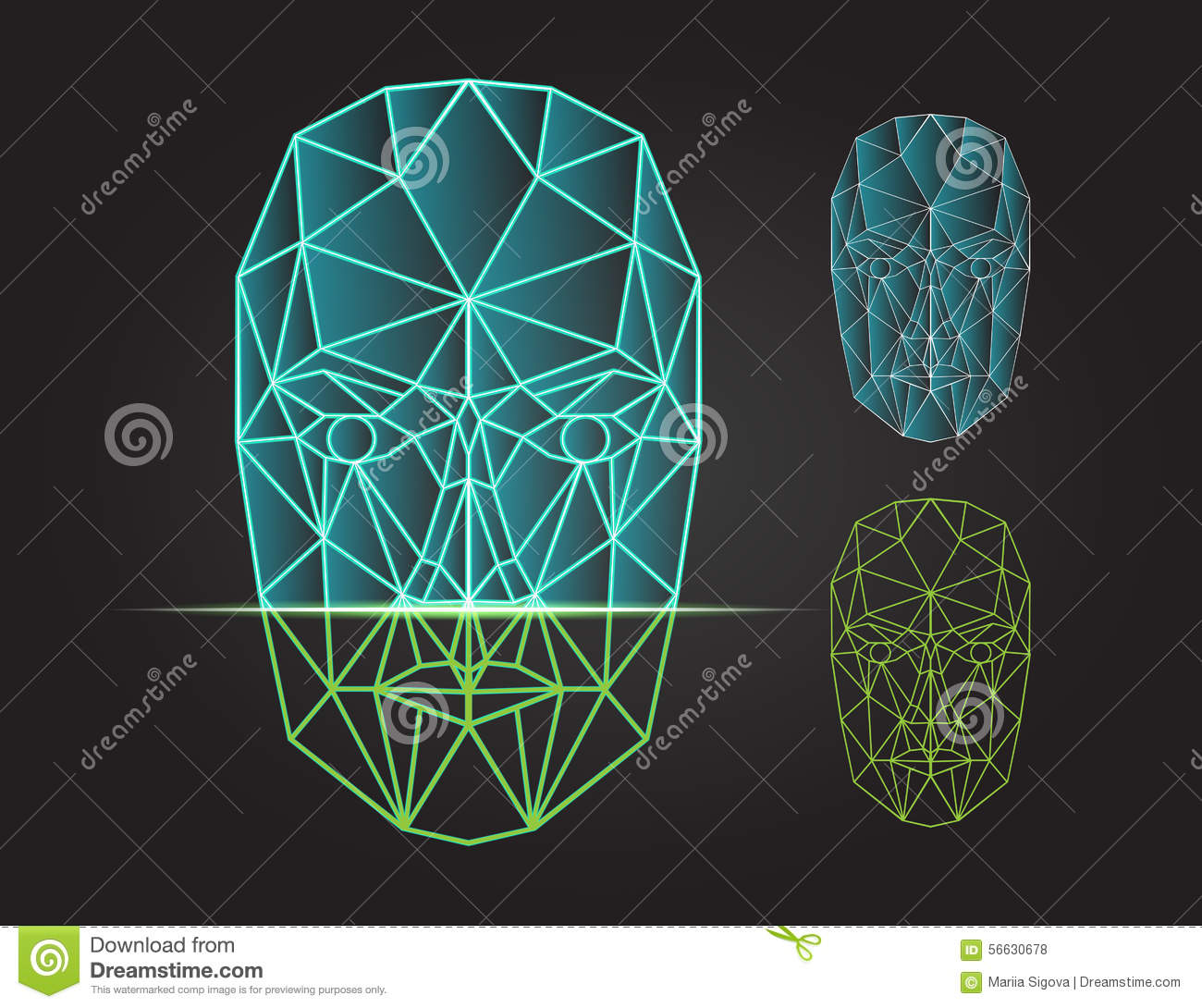 Face recognition and scanning - biometric security