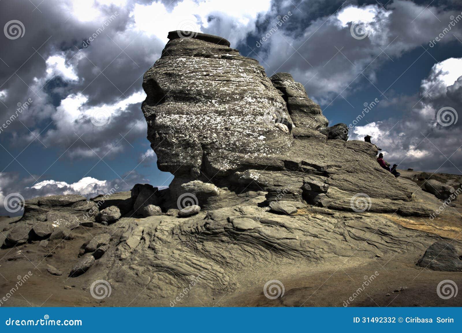 Natural Rock Faces : Face rock stock photography image