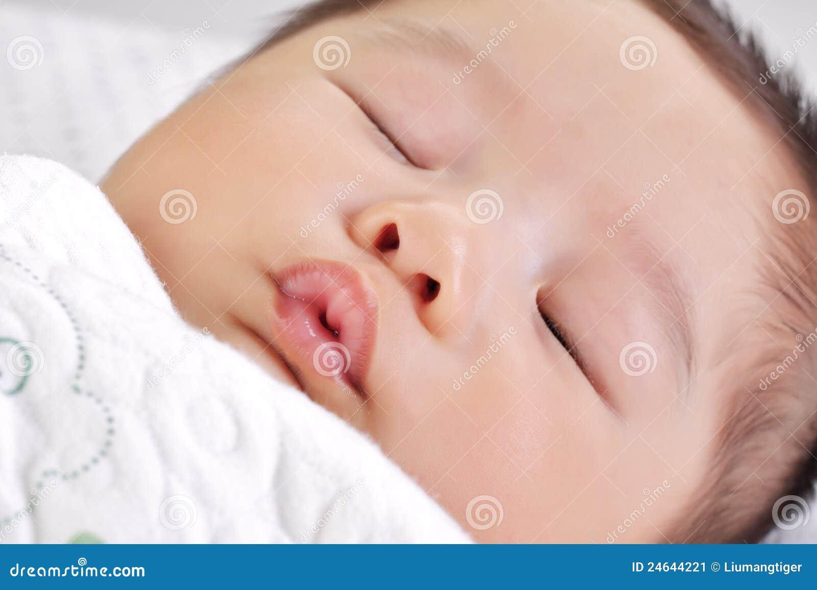 Face Of Sleeping Baby 3 Stock Image - Image: 24644221