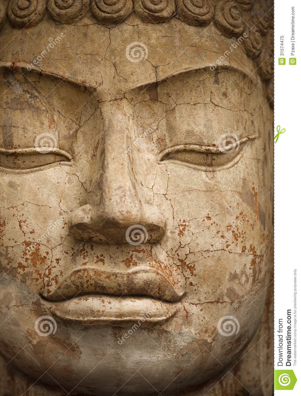 face of stone buddha statue royalty free stock photo image 31574475. Black Bedroom Furniture Sets. Home Design Ideas