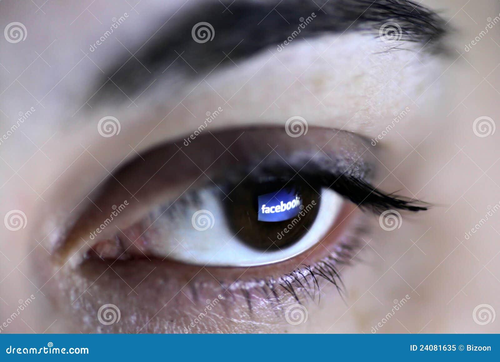 Facebook眼睛