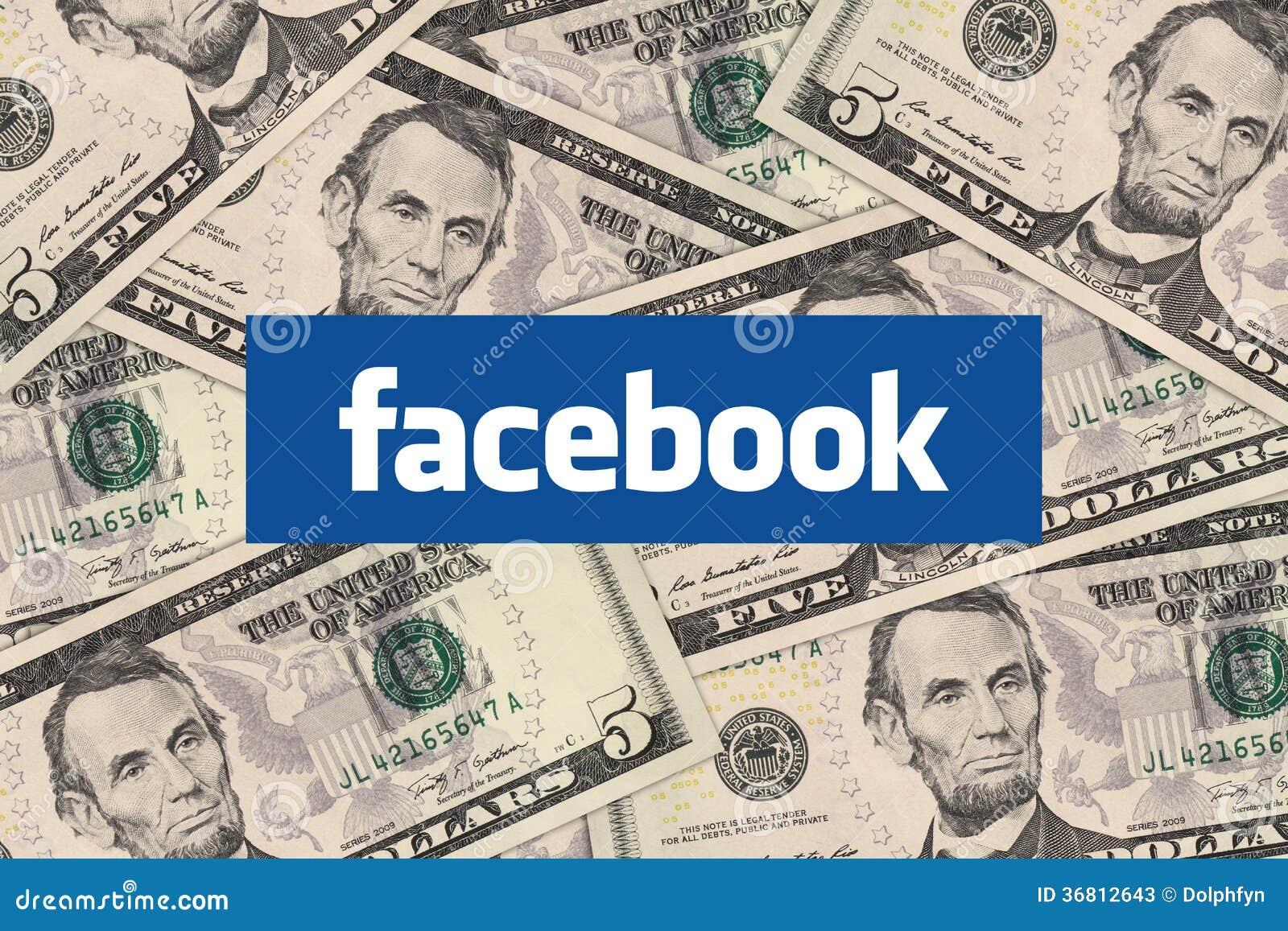 Facebook и деньги наличных денег
