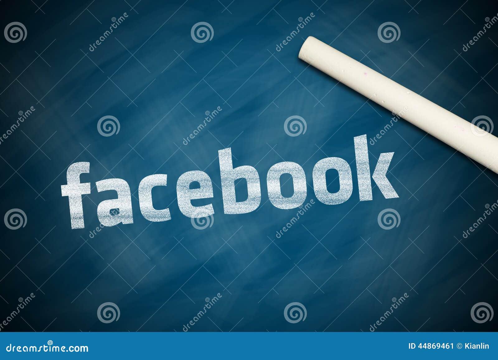 Facebook Banner Editorial Photo - Image: 44869461