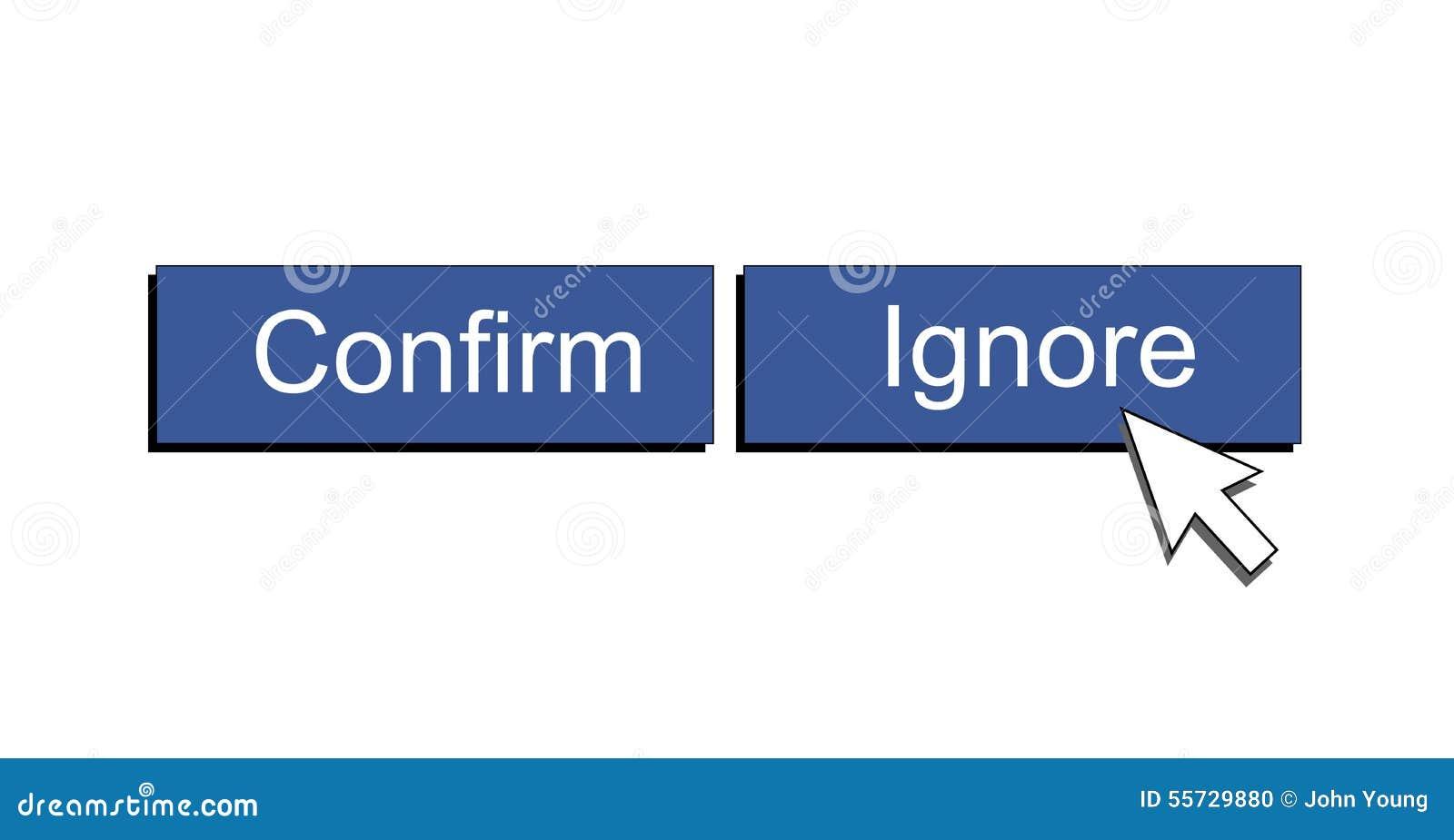 ignore facebook relationship request