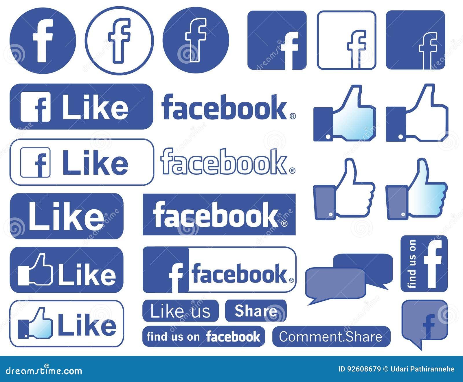 Facebook-Ikone