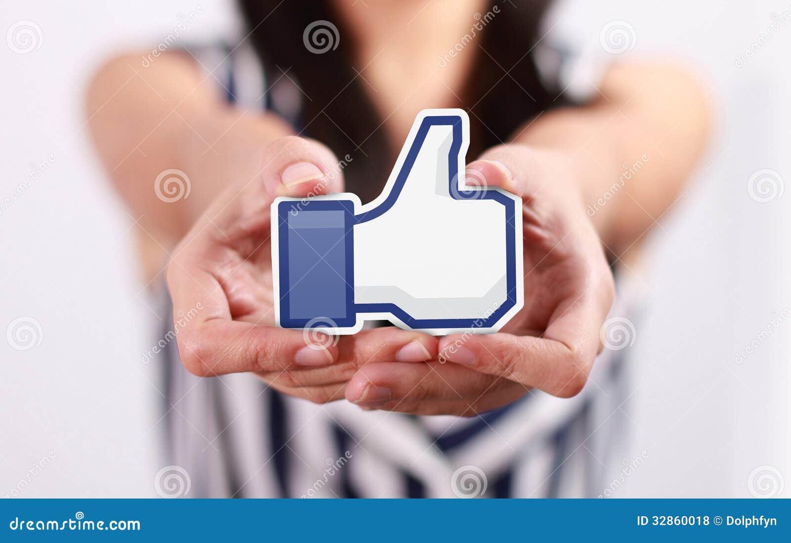 Facebook Jak guzik