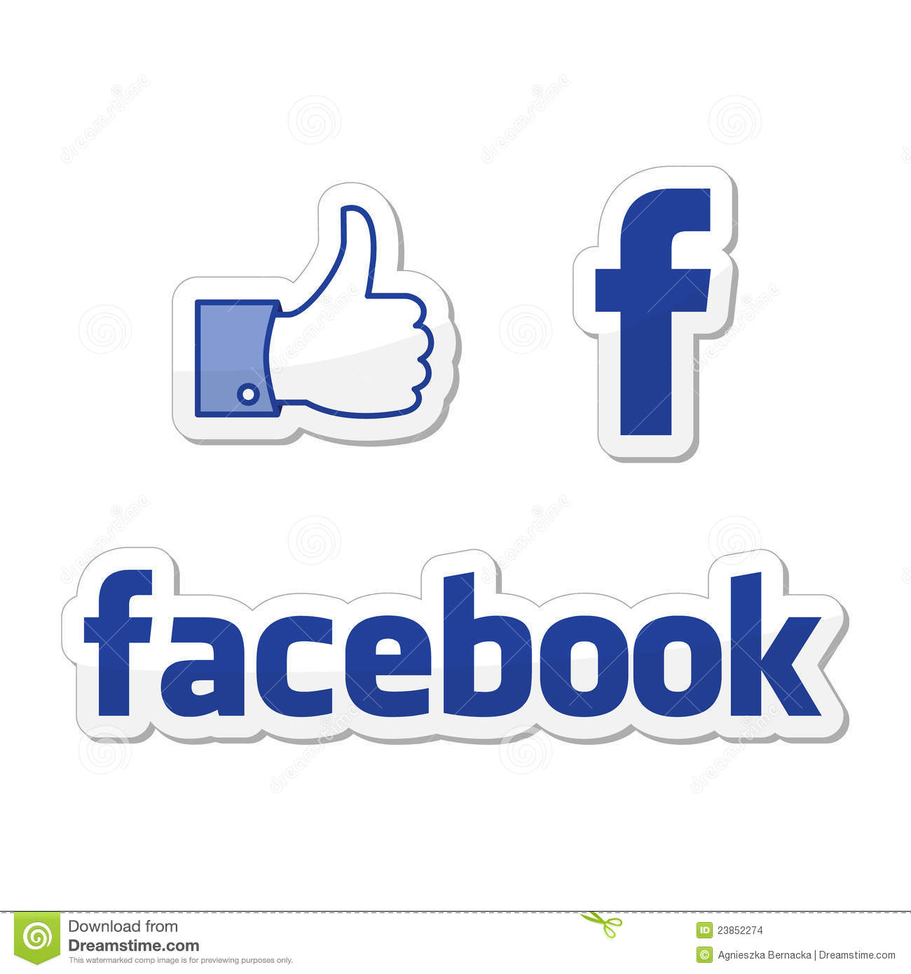 facebook like buttons editorial stock image image 23852274