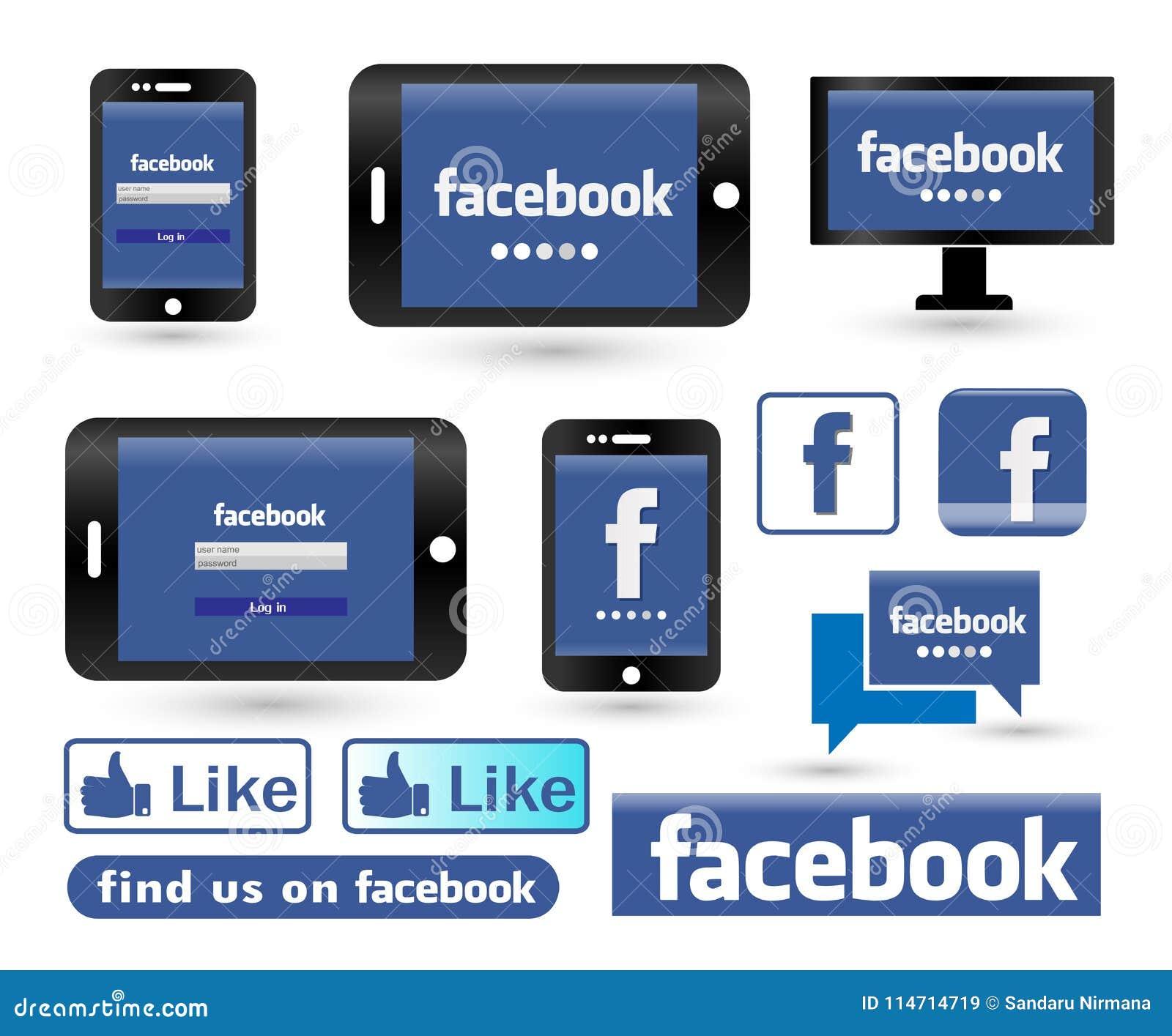 facebook login pc format