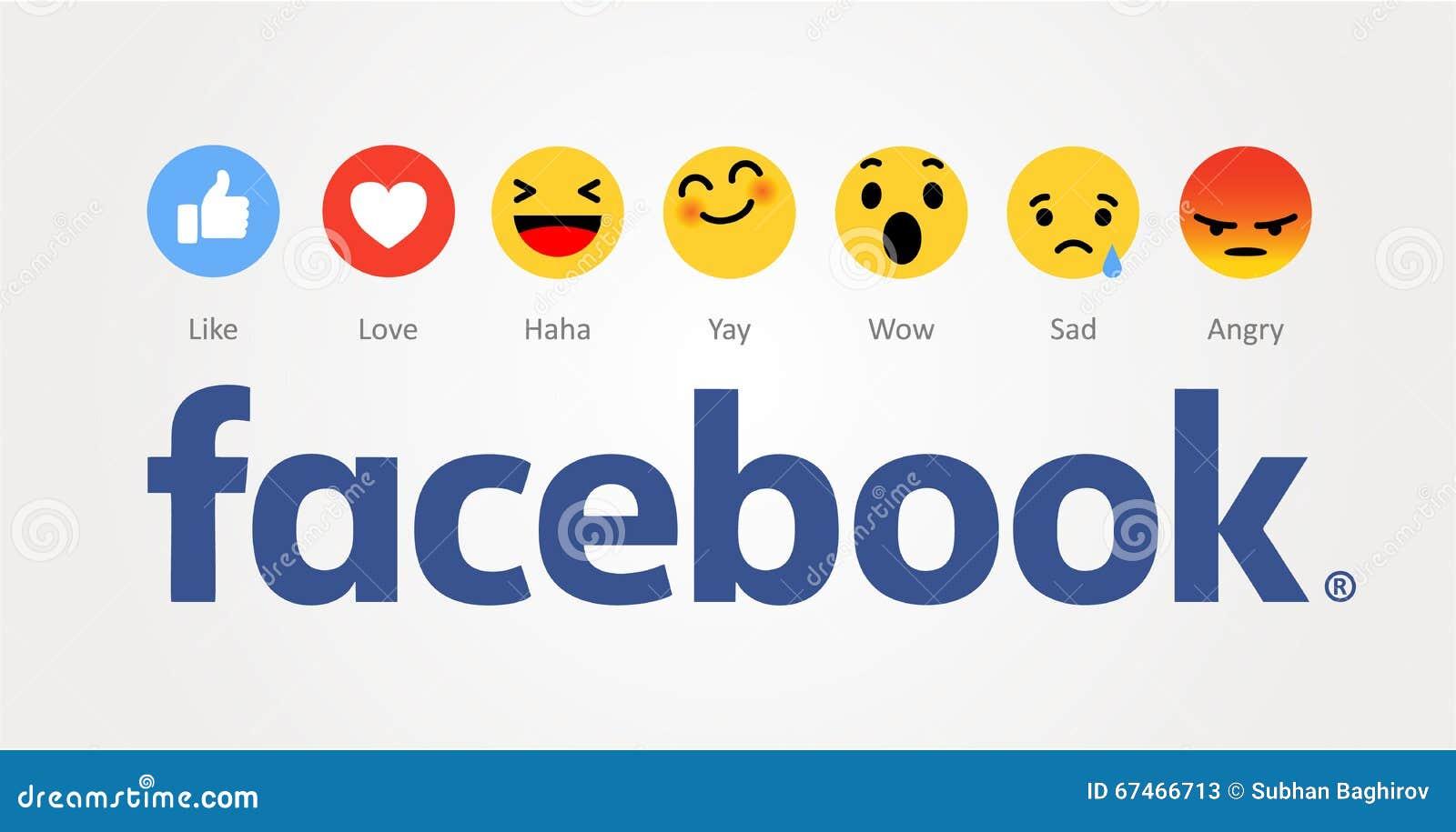 Facebook nouveau comme des boutons