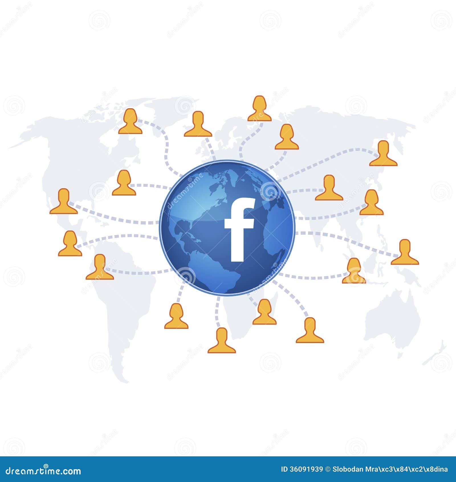 Viral Global News Viralglobalnews: Facebook Like Editorial Stock Image. Illustration Of