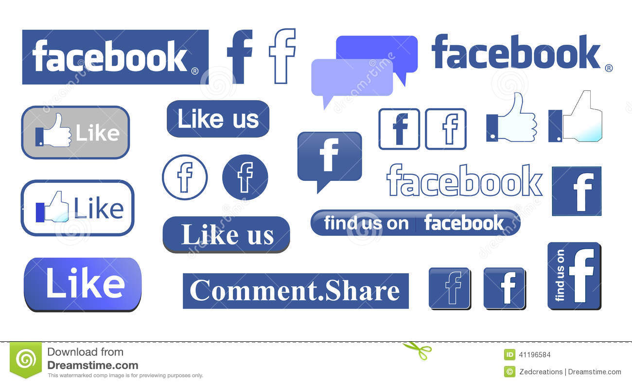 facebook editorial stock image image 41196584