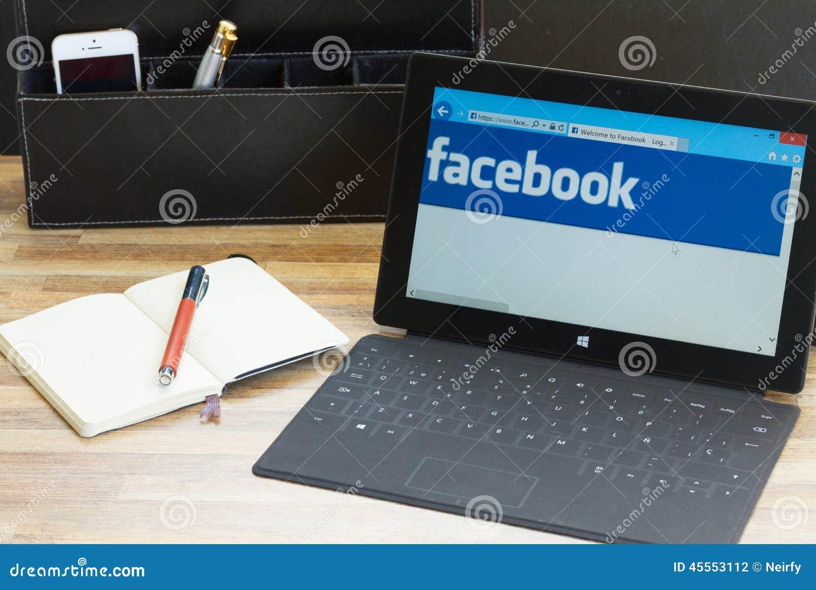 Facebook sida