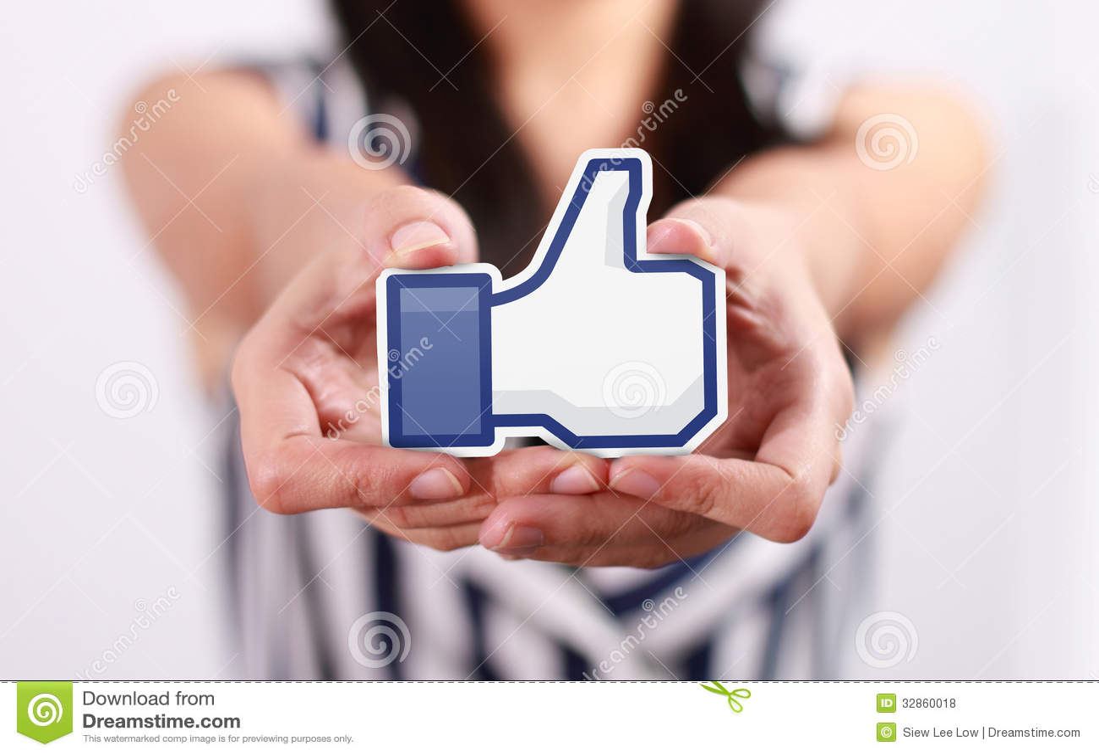 Facebook tiene gusto del botón