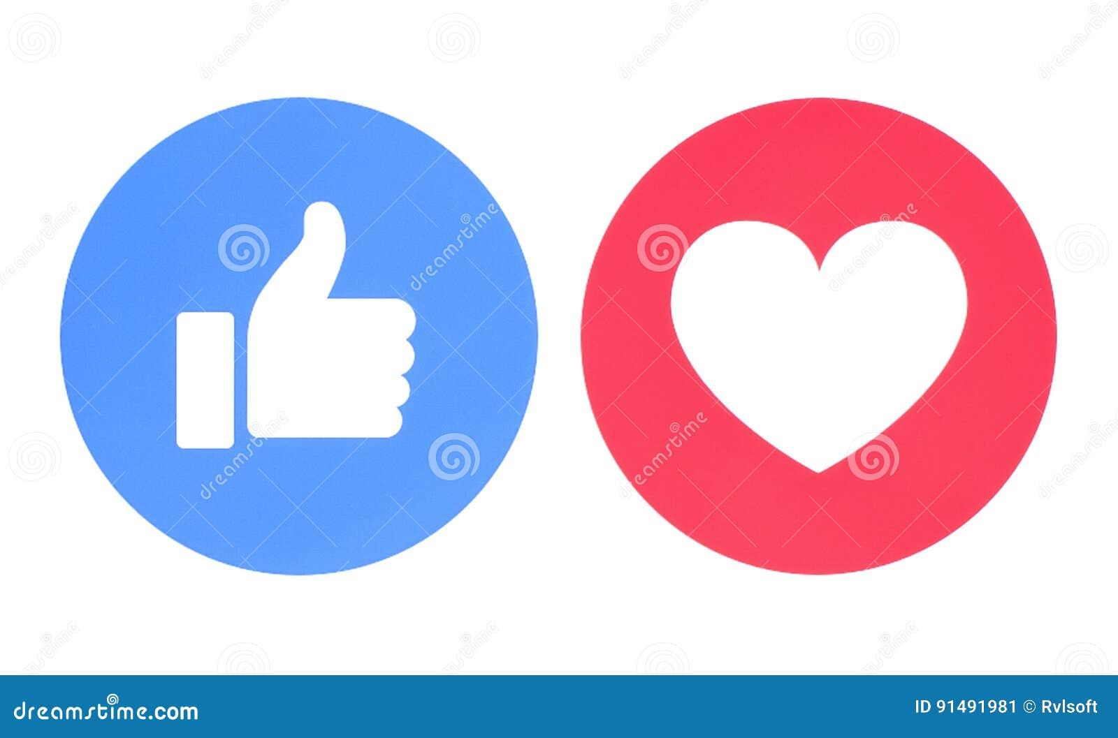 Facebook tiene gusto y ama de iconos