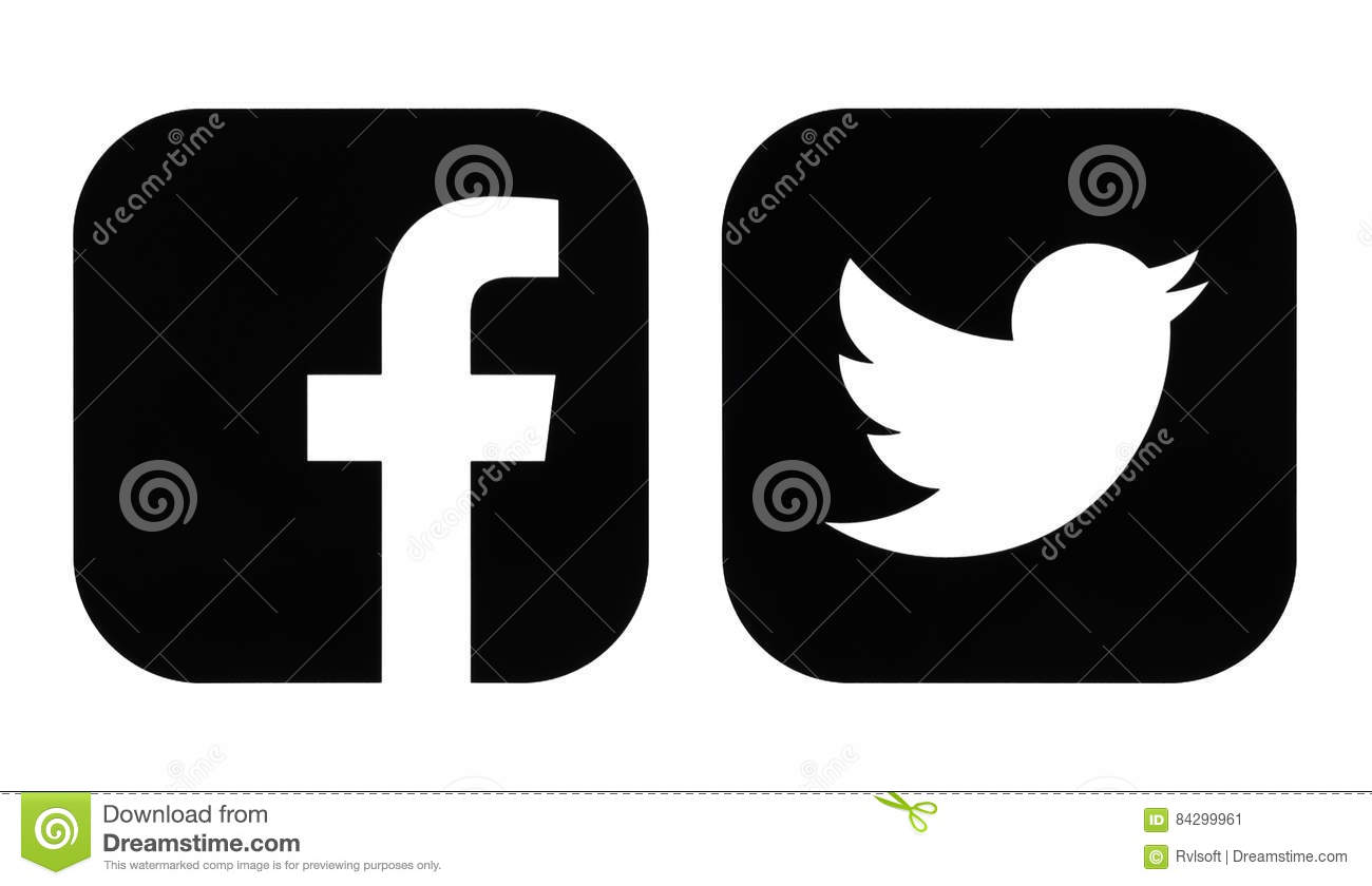 Facebook And Twitter B...