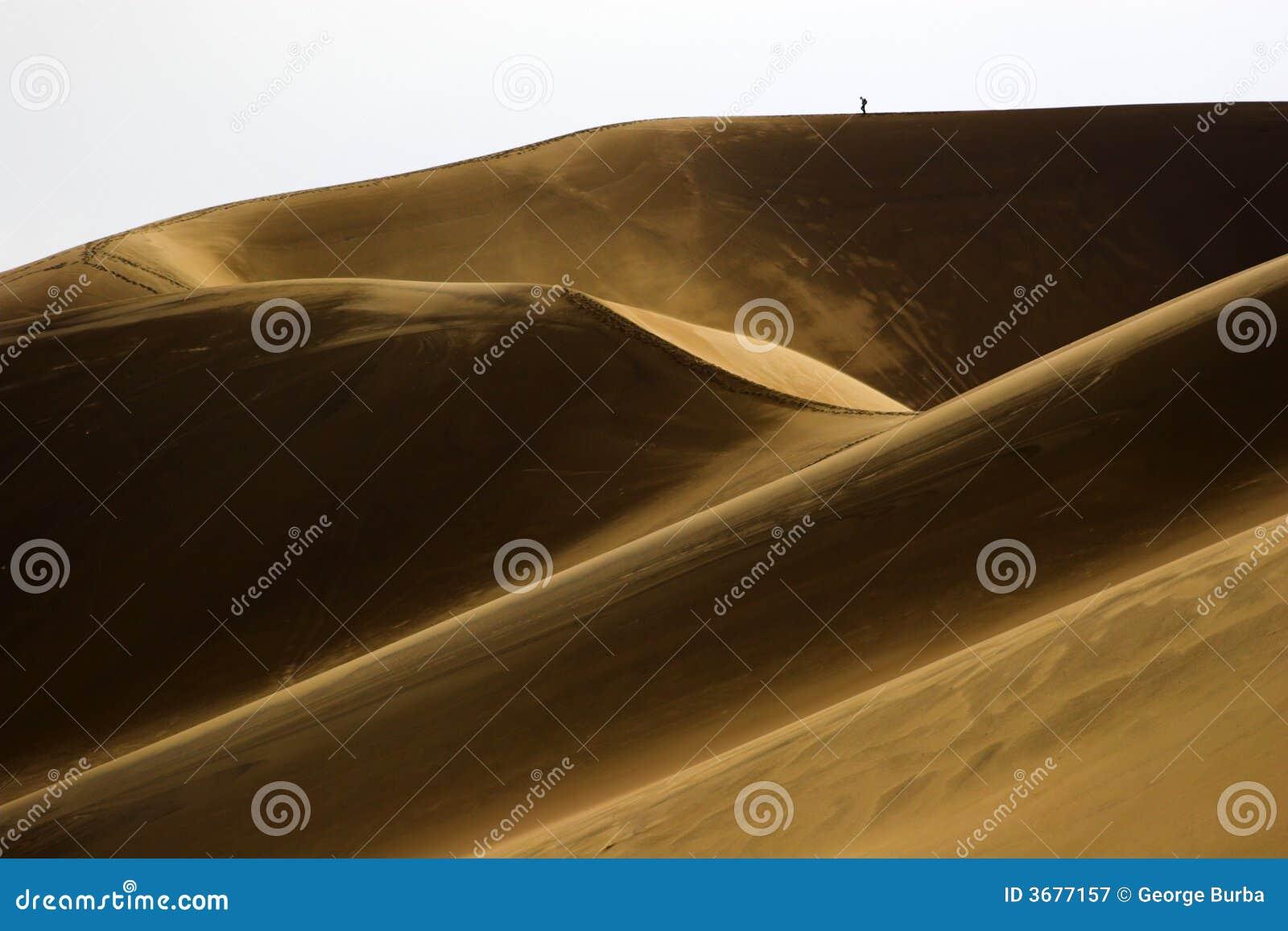 Download Facendo Un'escursione In Dune Di Sabbia Immagine Stock - Immagine di colorado, parco: 3677157