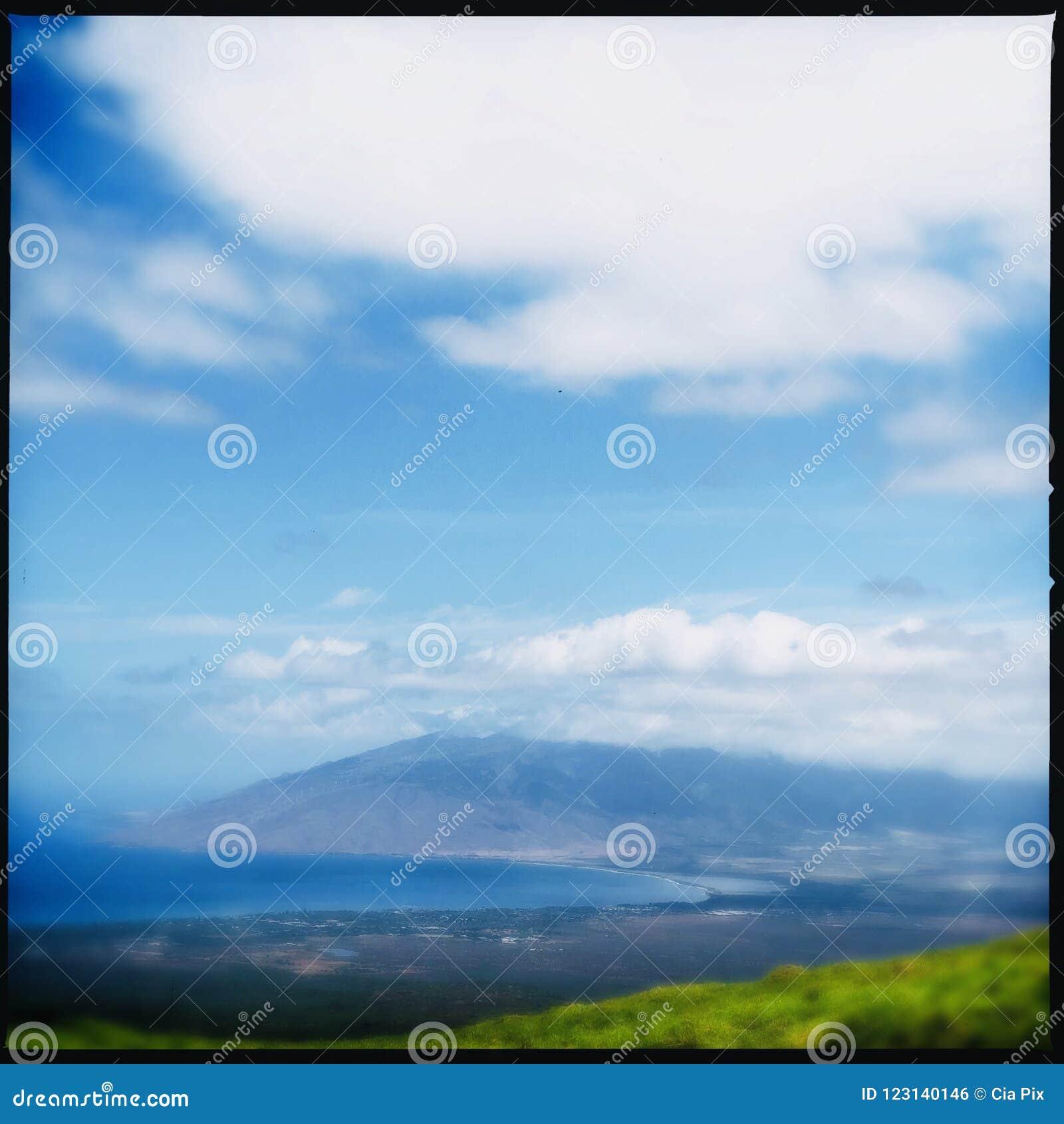 Facendo un escursione in Kula su Maui
