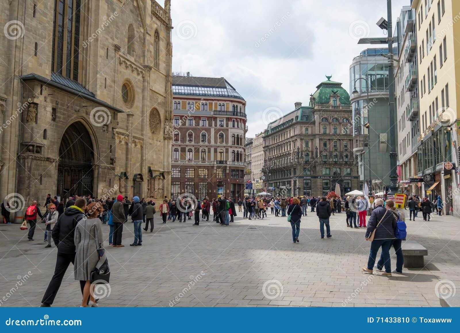 Facendo un giro turistico a Vienna