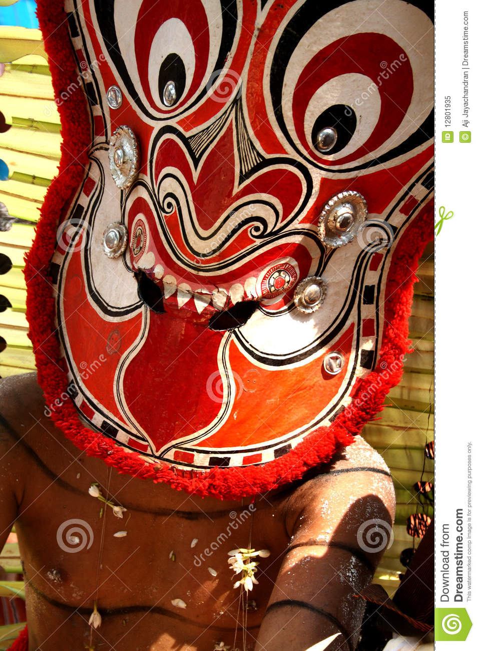 Faces de Theyyam