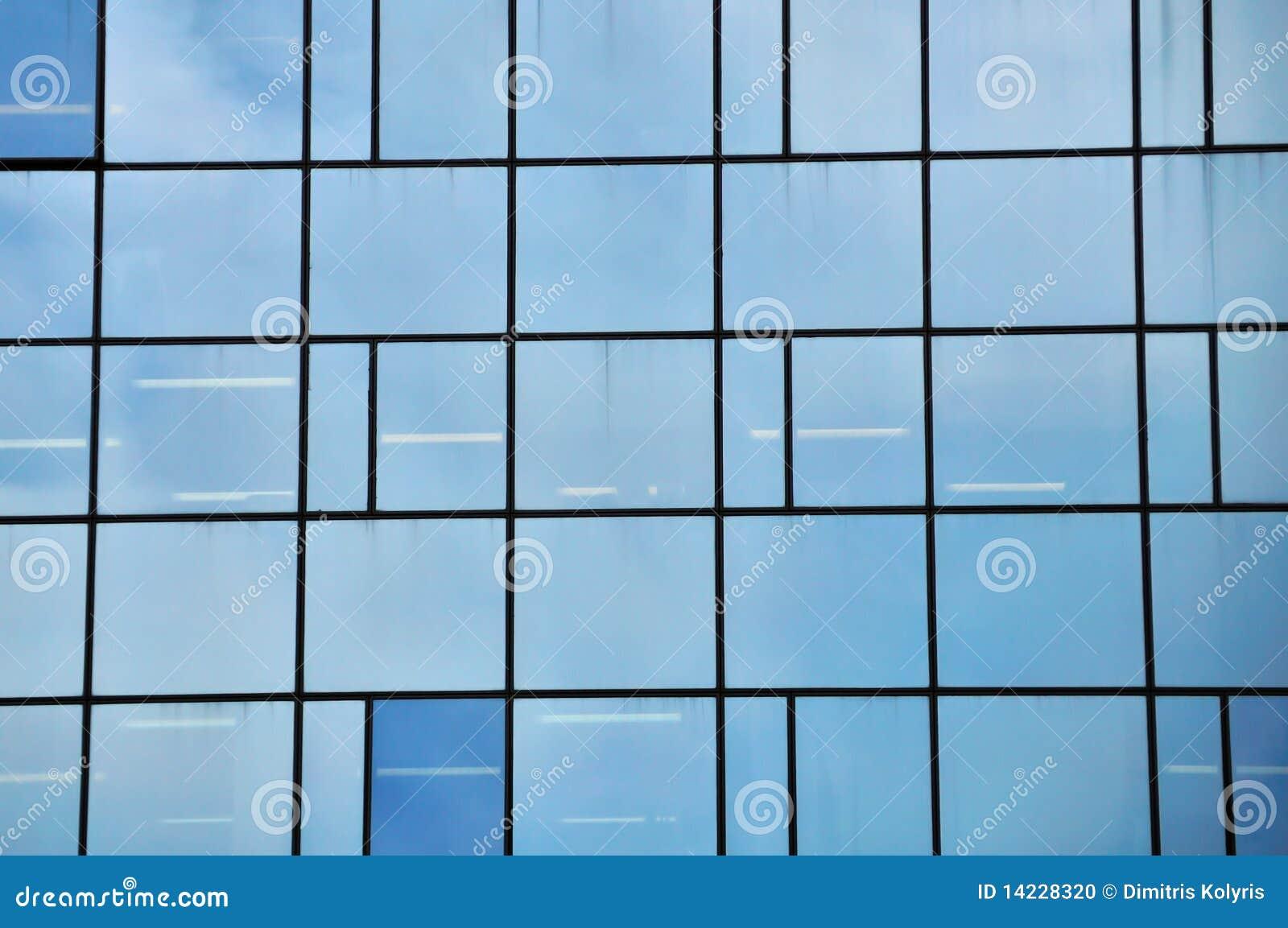 Fachada de cristal foto de archivo imagen 14228320 - Fachada de cristal ...