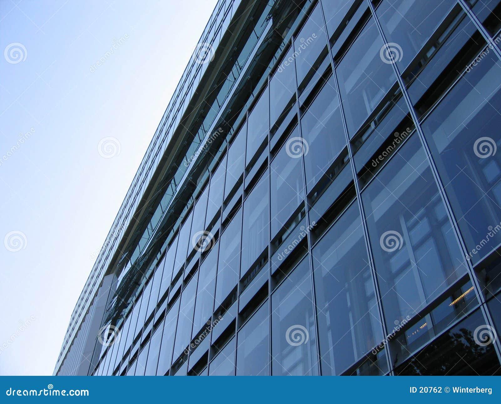 Fachada de cristal del edificio - Fachada de cristal ...
