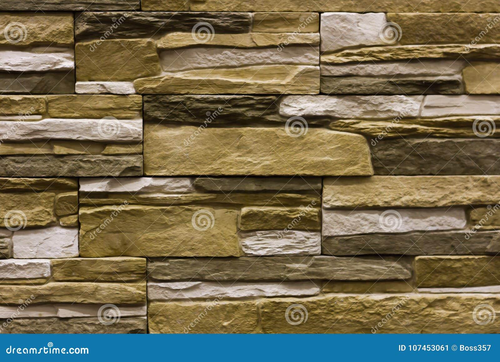 Fachada de piedra natural beige textura de las tejas de la pared imagen de archivo imagen de - Pared de piedra natural ...