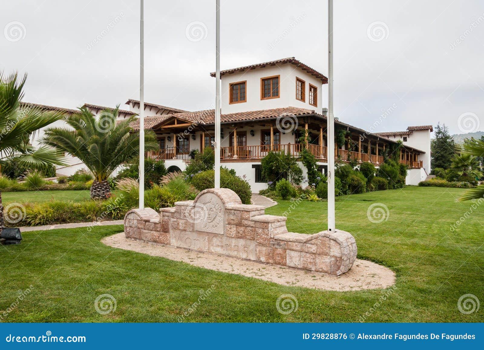 Adega no vale o Chile de Colchagua