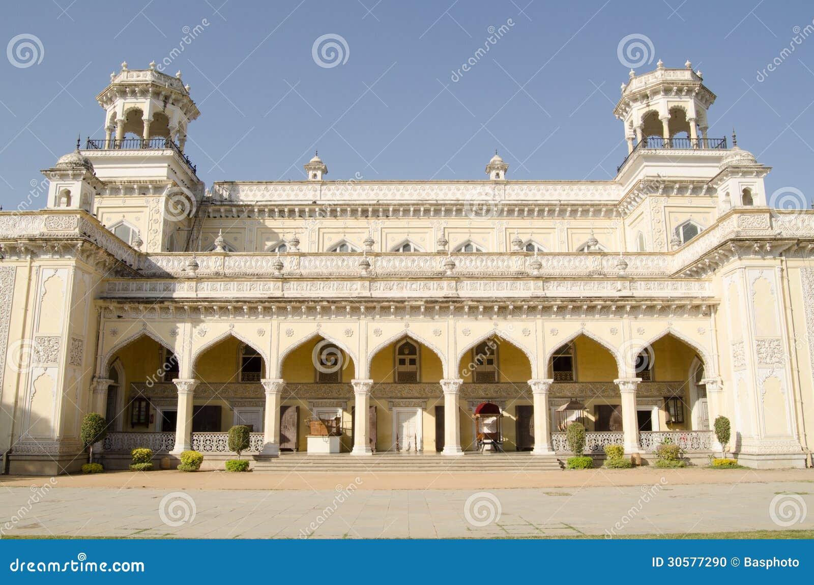 Fachada del palacio de Chowmahalla