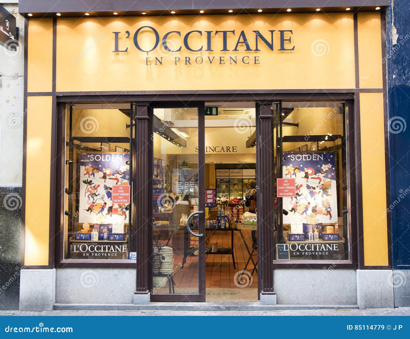 dd4fb7bed179f Fachada Do En Provence Do Loccitane Da Loja Imagem de Stock ...
